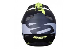 CASQUE SHOT ROGUE RAZE NEON YELLOW GREY