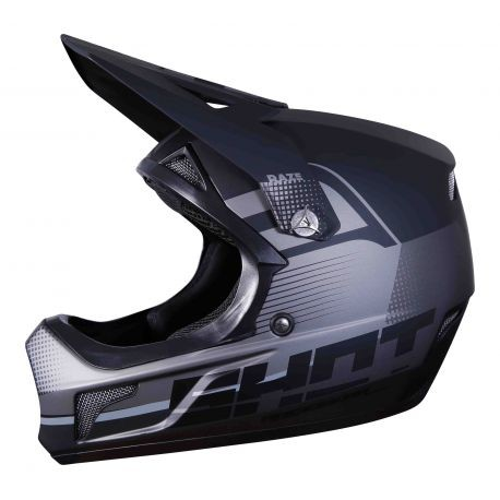 CASQUE SHOT ROGUE RAZE BLACK METAL