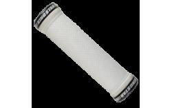 poignée lock diamant blanc 145mm