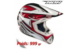 Casque NOX charger rouge