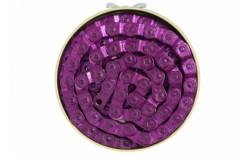 Chaine 1/2 maillon violet