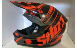 Casque SHOT FURIOUS CAPTURE orange