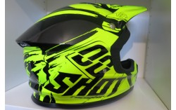 Casque SHOT FURIOUS CAPTURE neon jaune